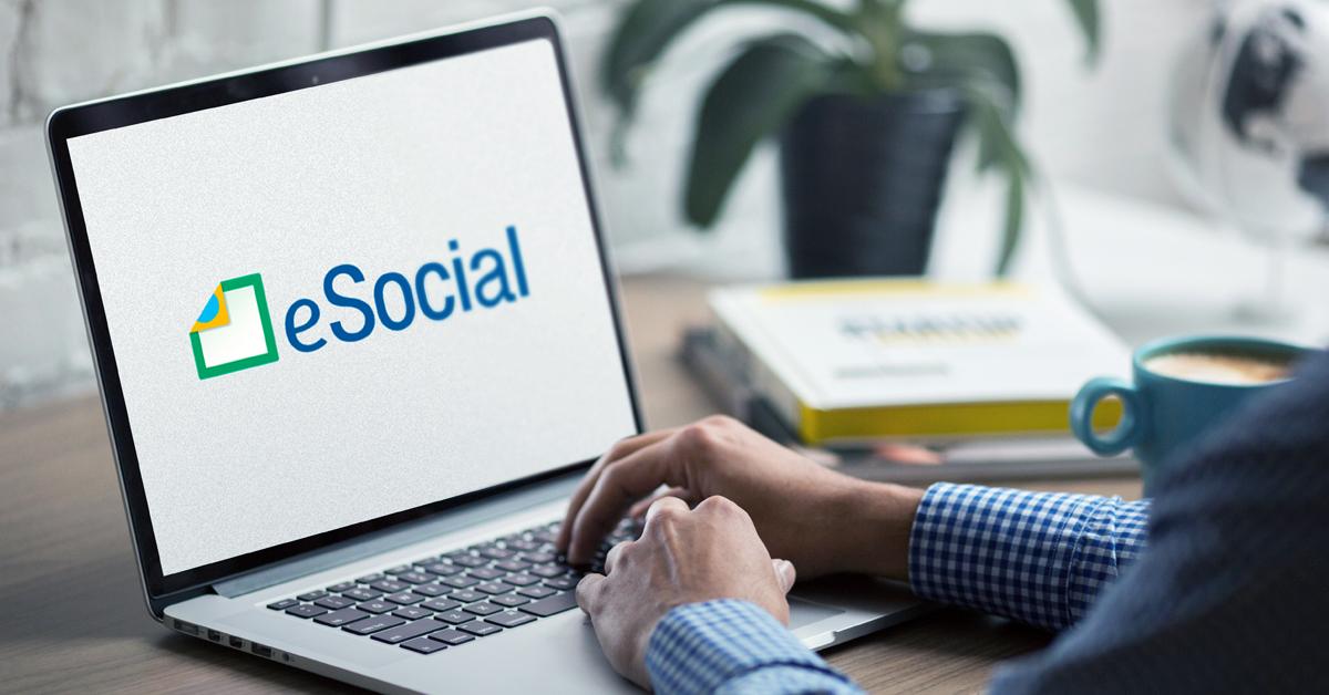 Envio das informações de eventos não periódicos para o 3º grupo no eSocial